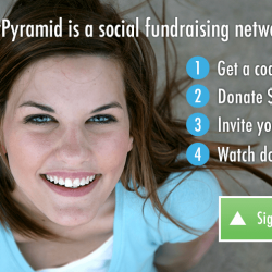 My Charity Pyramid Website